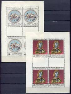 32948) Tchécoslovaquie 1970 MNH ★ Prague Castle MSX2
