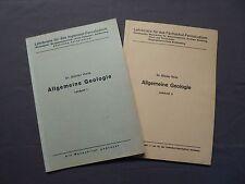 Dr. Günter Viete, Allgemeine Geologie, Lehrbriefe, Senftenberg / Zwickau 1957