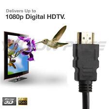 1.5FT 2FT 3FT 6FT 10FT 15F 25FT 30FT Super High Speed HDMI Cable V1.4 1080P 3D