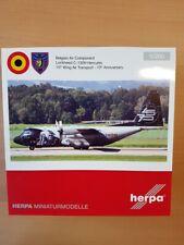 Herpa 559843 - 1/200 Belgian Air Component Lockheed C-130H Hercules