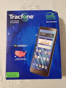Tracfone Prepaid Motorola Moto E6 4G LTE NIB Android 9.0 16-GB Bluetooth