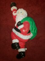 Vintage Hanging Climbing Santa Grand Venture Blow Mold Christmas Light 37""