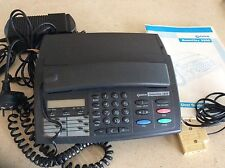 Telstra Smart Fax phone for parts/collection,  instruction book and accessories