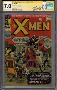 X-Men #2 Stan Lee Signature Series CGC 7.0 (OW-W) 1st Vanisher 2nd X-Men