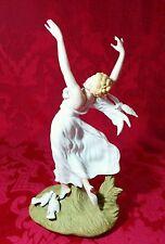 """1984 Louis Icart Art Deco Figurine 1930 ARC EN CIEL Japan H2012 #523 Ltd Ed 10"""""""