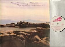 THE MOODY BLUES seventh sojourn LP EX-/EX 278.025 B france threshold 1972