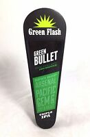 Green Flash Green Bullet Triple IPA New Zealand Dry-Hopped Beer Tap Handle