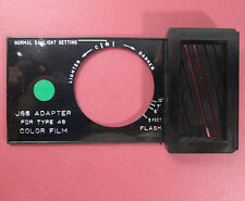 Polaroid J66 Adapter for type 48 Color Film for GREEN DOT Land Cameras Series 40