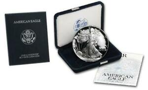 1994-P Proof American Silver Eagle with complete Box and COA