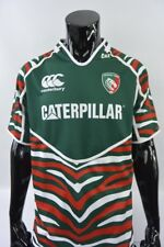 Canterbury Leicester Tigers Rugby Shirt Caterpillar Jersey SIZE XL (adults)