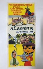 DAYBILL POSTER ALADDIN AND HIS MAGIC LAMP, AUSTRALIAN POSTER