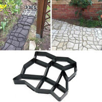 Reusable Path Maker Mold Patio Concrete Cement Stone Design Paver Walk Mould New