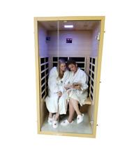2020 Demo Canadian Spa Jasper FAR Infrared Sauna 4 Mica Heaters