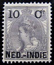 NED NVPH 31f Opdrukafwijking 10 Cent zonder trema op E ongebruikt CW 10,-