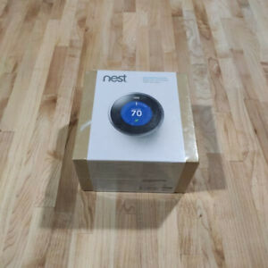 New Sealed Box NEST Learning Thermostat  #T100577 1st Generation