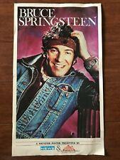 1985 BRUCE SPRINGSTEEN poster (commemorative)