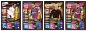 MATCH ATTAX EXTRA 2019/20 FULL SET OF FOUR (4) RECORD HOLDER CARDS