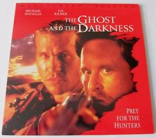 LASERDISC - NTSC - THE GHOST AND THE DARKNESS - with Michael Douglas, Val Kilmer