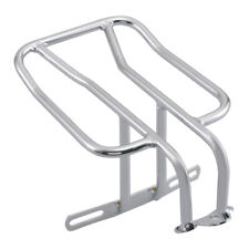 Chrome Fender Luggage Rack Carrier Fit For Harley Softail Sportster XL883 XL1200