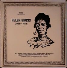 HELEN GROSS 1924-1925 LP~Cliff Jackson~Bob Fuller~Porter Grainger~Female Blues