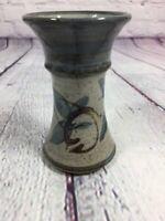 "Vintage St.Andrews Pottery Vase Stoneware Glazed Decorative - 4.5"" Tall"