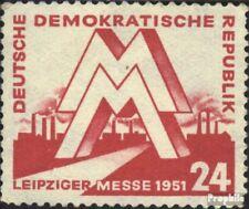 DDR 282 postfris 1951 Leipzig Voorjaarsbeurs