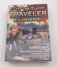 Laura McKenzie's Traveler Europe - DVD - Brand New