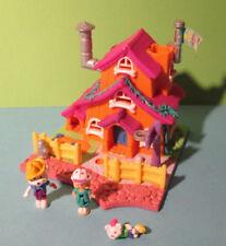 Polly Pocket Mini ♥ Süße Bunte Villa ♥ Dog House ♥ 100% Komplett ♥ 1994 ♥