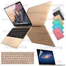 Protective Hard Case for Apple Macbook /MacBook Pro Laptop + Screen Film + More