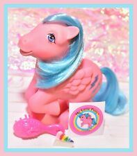 ❤️My Little Pony MLP G1 Vtg 1983 Pink Pegasus Ponies Firefly Lightning Bolts❤️
