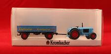 wiking/ Krombacher Deutz Schlepper mit Ldw. Anhänger / 2582 / 1:87 / ovp