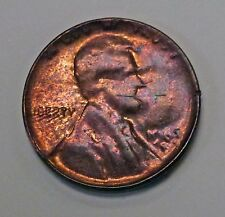 {BJStamps} 1969? 65? LINCOLN Memorial Cent Struck thru Capped DIE Error