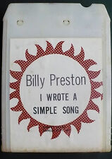 Billy Preston, 'I Wrote a Simple Song', 8-Track Tape