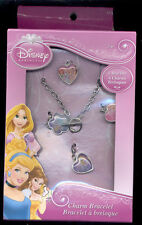 Disney  Princesses Snow White and others Bracelet with 4 charms  New in box