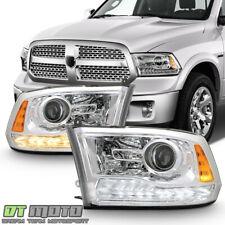 [Upgrade Style] 2009-2018 Dodge Ram 1500 LED DRL Projector Headlights Headlamps