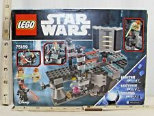 LEGO STAR WARS DUEL AT NABOO #75169 SET NEW IN BOX SEALED