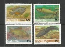 NAMIBIA 1992 FRESHWATER ANGLING SG,588-591 UN/MM NH LOT 1194A