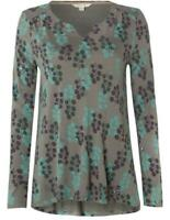 New White Stuff Kelly Ann Embellished Pretty Floral Jersey Tee RRP £45 Now £19