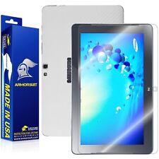 ArmorSuit MilitaryShield Samsung ATIV Smart PC 500T Screen + White Carbon Skin