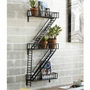 Home Decor  Fare Escape Shelf  Ladder Wall Design idea NEW