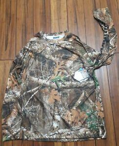Columbia Pfg New Edge Realtree Lg Camo Hunting Longsleeve Shirt