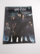 *  HARRY POTTER MOVIE-SONGBOOK-TENOR SAX-LEVEL2-23-goblet OF fIRE W/cd