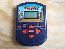 Rare Milton Bradley 1995 Electronic Hand-Held Hangman Pocket Travel Game!