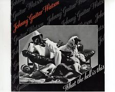 CD JOHNNY GUITAR WATSON	what the hell is this	VG++ (A2809)
