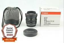 [Top Mint in Box] CANON EF 15mm F2.8 FISH EYE Wide Angle Lend From Japan #4444
