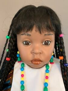 NEW Whitney Doll by Donna RuBert 1991, Porcelian