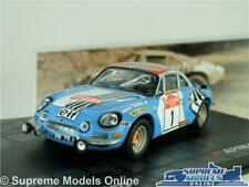 ALPINE RENAULT A110 1800 MODEL CAR 1973 RALLY SANREMO THERIER 1:43 SCALE IXO K8