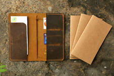 Personalized leather midori travelers notebook / midori style leather journal