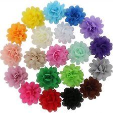 Juego De 20 Lazos De Cabello Para Niñas Flores Rosas En Colores Surtidos