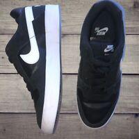 Nike SB Delta Force Vulc Black Skate Skateboard Shoes 942237-010 Mens Size 6